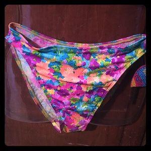 Sunset authentic bikini bottom size small new